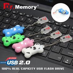 Pendrive cartoon dog bone Usb flash driver usb Stick 2GB 4GB 8GB 16GB 32GB/64gb Memory stick