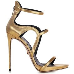 Award Gold Sandal Le Silla In Fiesta, Metallizzed Fabric. ($351) ❤ liked on Polyvore featuring shoes, sandals, yellow gold shoes, le silla, gold sandals, gold shoes and le silla shoes
