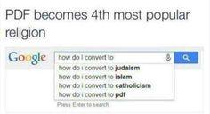 A new PDF convert