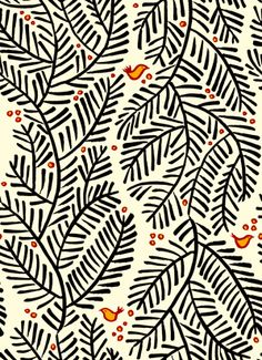 arborvitae. by spoonflower.