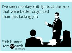 Monkey shit fights