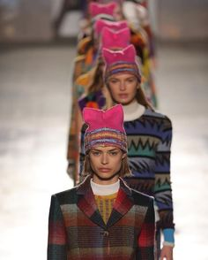 A mini #womensmarch went down the runway at @missoni today and Angela Missoni asked us to stand up for basic human rights. #MFW  via CR FASHION BOOK MAGAZINE OFFICIAL INSTAGRAM - Celebrity  Fashion  Haute Couture  Advertising  Culture  Beauty  Editorial Photography  Magazine Covers  Supermodels  Runway Models