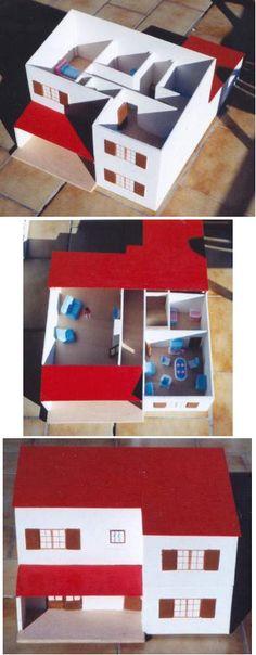 Recérer sa maison à petite échelle #handicap visuel #aveugle enfant-aveugle.com