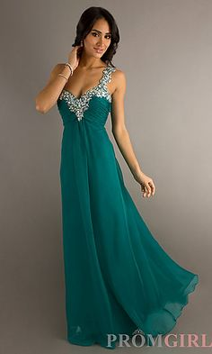 Would be cute without the sleeves. green prom dresses examples ...