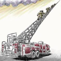 One of the coolest pictures ever.RIP Houston firefighters.