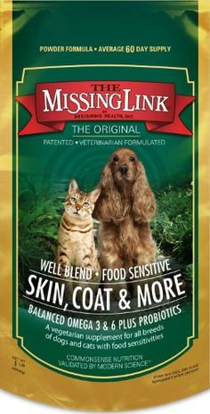 Missing Link 1-Pound Well Blend Nutritional Supplement for Dogs and Cats - http://www.thepuppy.org/missing-link-1-pound-well-blend-nutritional-supplement-for-dogs-and-cats-2/
