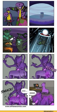 #Dota2 Dota,фэндомы,Dota Comics,Darkterror the Faceless Void,Faceless Void,Harbinger the Outworld Devourer,Atropos the Bane Elemental,OfflaneComics,песочница