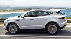 Jaguar E-Pace 2018. Imágenes exteriores.