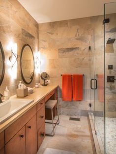 Stylish Bathroom - Beautiful Homes Design