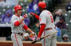 Ryan Howard with a little Chase Utley