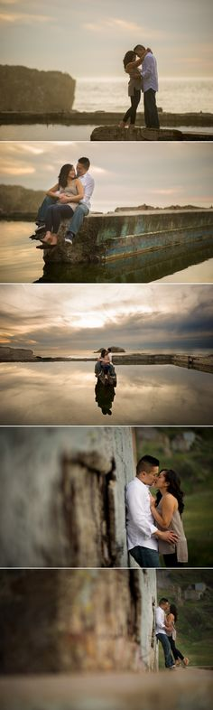 Sutro Baths San Francisco Engagement Photography 3