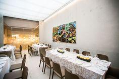 Ristorante LARTE Milano - Sala Giardino D'Inverno Conference Room, Dining Table, Furniture, Design, Home Decor, Decoration Home, Room Decor, Dinner Table