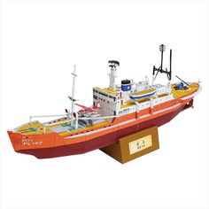 "Canon papercraft - Antarctic Observation Ship ""Soya"""