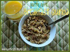nutty apple quinoa breakfast