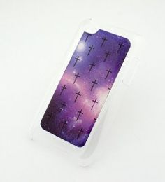 Amazon.com: CLEAR Snap On Case for APPLE IPOD TOUCH 4 / 4G / 4th Gen Generation Plastic Cover - MINI CROSS GALAXY aurora boeralis sky milkyway stars crucifix Christian Jesus nebula: MP3 Players & Accessories