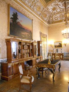 https://flic.kr/p/dh17oH | Napoli, Palazzo Reale: Studio di Gioacchino Murat