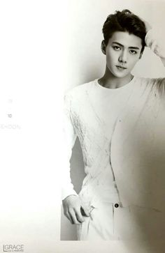 EXO | EXO-K | Oh Se Hun (sehun) | MCM X EXO Photobook [PREVIEW] | Facebook | cr: grace