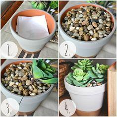 DIY Succulent Planter -