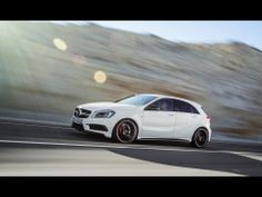New Mercedes-Benz AMG Comes with AWD and a Dual Clutch Transmission - Carscoops Mercedes A Class, New Mercedes, Mercedes Benz A45 Amg, A Class Amg, Daimler Ag, Life Car, Car Insurance, Used Cars, Models