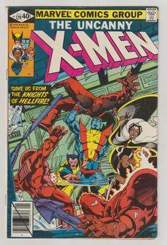 Uncanny X-Men; V1, 129, Bronze Age Comic Book.  VF-. January 1980.  Marvel Comics #xmen #kittypryde #emmafrost #comicsforsale