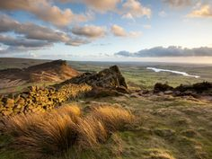 Sunset at the Roaches Including Tittesworth Reservoir, Staffordshire Moorlands, Peak District Natio