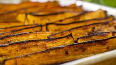Roasted Eggplant Wedges - Easy Meals with Video Recipes by Chef Joel Mielle - RECIPE30