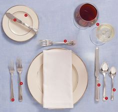 Proper Southern Table Setting