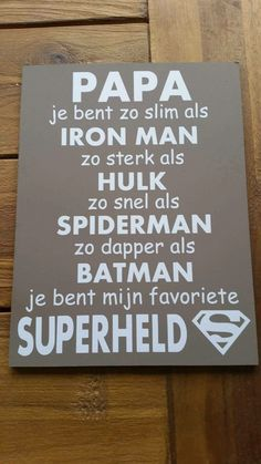 Papa - superheld