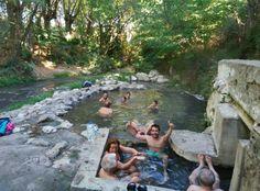 Disfrutando de las #aguastermales en #LosBaños #Alhama #Granada #elviajemehizoamí