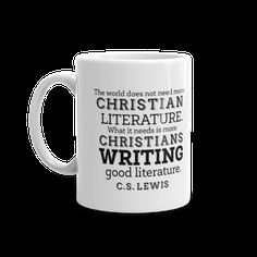 Kingdom Pen, swag, Christian writing, writing mug
