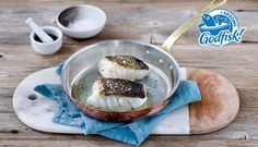 Caught straight from the cold, clear waters of Northern Norway, Skrei (pronounced Skray) is a migratory cod from Norway, caught in its prime. Top Restaurants, Menu Restaurant, Unique Recipes, High Protein, Cod, Camembert Cheese, Healthy Recipes, Healthy Food, Low Carb