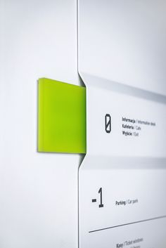 Signage Design Wayfinding in the Silesian Museum, Katowice, Poland by Blank Studio. Click image for Signage Display, Retail Signage, Signage Design, Directional Signage, Wayfinding Signs, Environmental Graphic Design, Environmental Graphics, Corporate Design, Architectural Signage