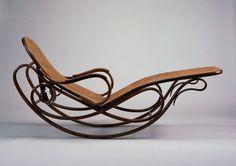 1880_ Rocking Chaise par michael thonet