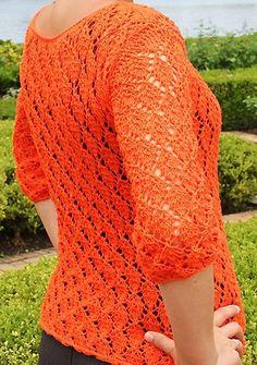 Free Knitting Pattern Blouse: take your yarn and see the tutorial | Knitting Free Patterns, Knitting Free Standards, Knitting Free Tutorial, Blouse, Summer, Knitting Charts, Knitting Tips, Girl Knitting, Knitting Woman, Step by Step,  Knitting Fashion, Knitting Inspiration, Knit.
