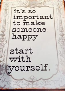 I think we always forget to make ourselves happy! #happywifehappylife #homedecor #blessed Heritage Gift Shop, 8015821847