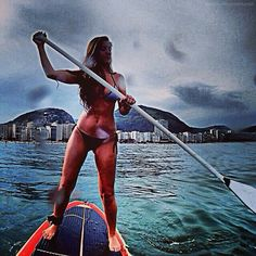 . Alicante, Sup Stand Up Paddle, Super Girls, Surfboards, Paddle Boarding, Eye Candy, Surfing, Pearl, Ocean