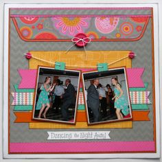 Scrapbook Layout #scrapbook #layout #papercraft