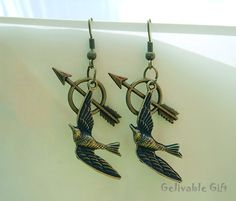 mockingjay earrings #hungergames