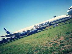 Um Douglas DC-8 que pertencia à empresa aérea cargueira Skymaster vai virar um restaurante em Poços de Caldas (MG)