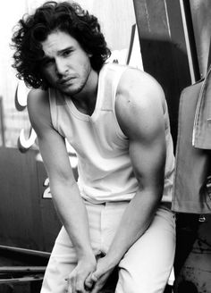 Kit Harrington. Again. (Because, DEAR LORD.)