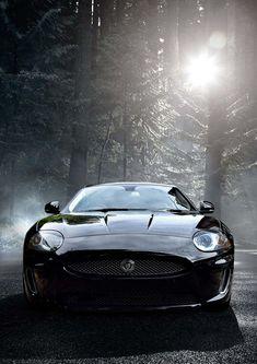 Jaguar xk Portfolio 5.0. Black on Black.