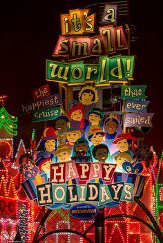 43fb5ecf1e7 It s A Small World ~Disneyland by SSCHONB, via Flickr Small World Disneyland,  Disneyland