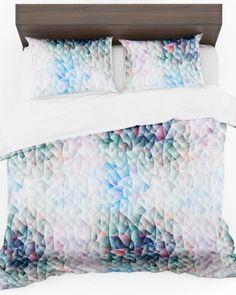 Posteľné návliečky v bielej farbe s farebným vzorom (2) Bed Pillows, Pillow Cases, Home, Colors, Pillows, Ad Home, Homes, Haus, Houses