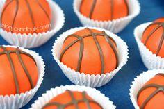 Basketball Cake Balls - @MissCandiQuik