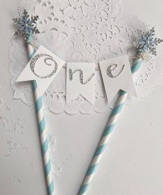 Winter Onederland Cake Topper Winter Onederland by WeddingWishlist