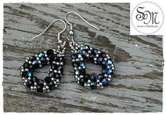 Sviro Műhely: Cseppek Beaded Earrings, Beading, Jewelry, Beads, Jewlery, Jewerly, Schmuck, Jewels, Pearl Earrings