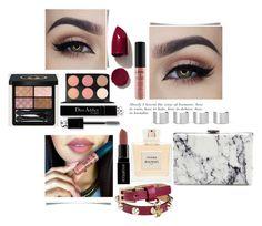 """Untitled #3123"" by mariaisabel701 ❤ liked on Polyvore featuring beauty, Dsquared2, Balenciaga, NARS Cosmetics, NYX, Gucci, MAC Cosmetics, Maison Margiela, Christian Dior and Smashbox"