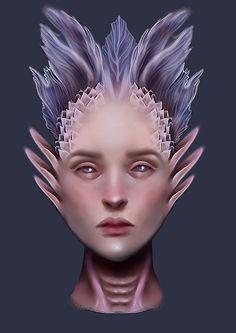 Some sort of human/creature queen