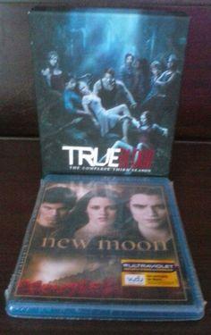 lot of 2 Blu-ray Trueblood Third Season Twilight New Moon Bluray Vampire