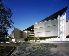 Sir Llew Edwards Building at University of Queensland by Richard Kirk Architect